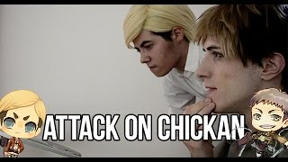 getlinkyoutube.com-Attack on Chickan - SnK Live Cosplay