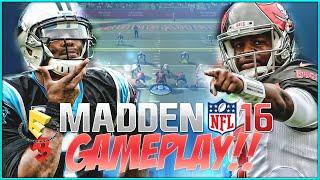 getlinkyoutube.com-MADDEN NFL 16 E3 GAMEPLAY!!!  Jameis Winston vs Cam Newton!! | MADDEN NFL 16 GAMEPLAY WALKTHROUGH