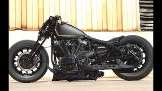 Platinum Air Ride on a Yamaha Bolt by Low and Mean