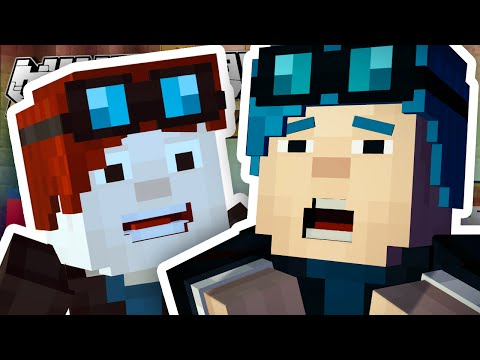 Minecraft Story Mode   I'M IN THE GAME?!   Episode 6 [#1]