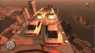 getlinkyoutube.com-GTA IV MODS PS3 ONLINE CRAZY RAMPS IN THE SKY