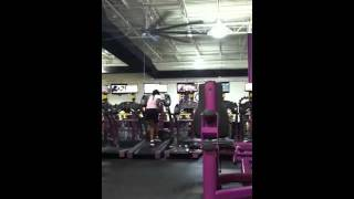 getlinkyoutube.com-Planet fitness treadmill fall