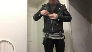 getlinkyoutube.com-Pickup: BLK DNM Leather Jacket + Giveaway!