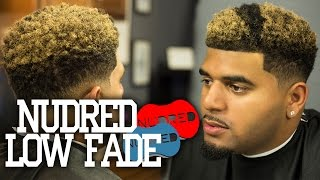 getlinkyoutube.com-HOW TO: NuDred Low Fade w/ Blond Coloring |  Men's Haircut Tutorial | 1080p HD