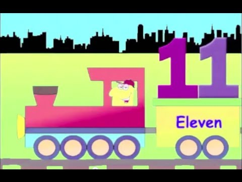 Learn Numbers Train - learning numbers 11 to 20 for kids