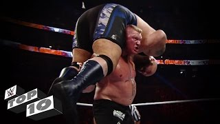getlinkyoutube.com-Brock Lesnar's Most Powerful Moments - WWE Top 10