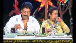 getlinkyoutube.com-Dine with Ntv - Tollywood Hero - Real Star Sri Hari Couple - 03