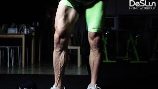 getlinkyoutube.com-[데스런 홈트레이닝] 맨몸 하체운동, 단계별 맨몸 스쿼트와 런지