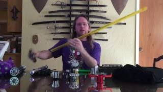 getlinkyoutube.com-Kyberlight Lightsaber Review