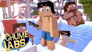 getlinkyoutube.com-Minecraft: PARQUE AQUÁTICO! (Chume Labs 2 #57)