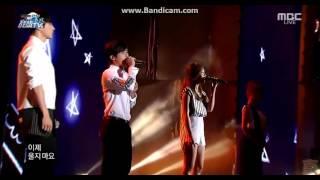 getlinkyoutube.com-150814 Infinite(Hoya,L) Apink(Eunji,Namjoo) - Special Stage @DMZ Peace Concert