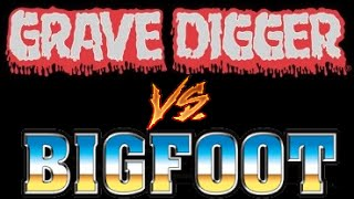 getlinkyoutube.com-Grave Digger vs Bigfoot