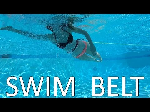 Swim Belt Bungee | Turn your SMALL POOL into a Lap Swimming Pool