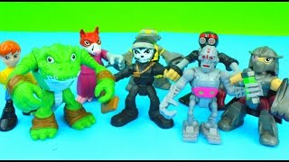 getlinkyoutube.com-Nickelodeon Half Shell Heroes Teenage Mutant Ninja Turtles Casey Jones Splinter TMNT Just4fun290