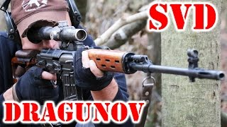 Real SVD Dragunov - Russian Sniper / DMR Rifle