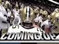 Drew Brees Pre-Game Huddle 2009