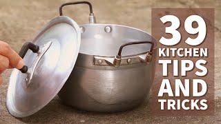 39 Awesome Kitchen Life Hacks