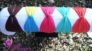 getlinkyoutube.com-Tutorial turbante de malla
