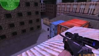 getlinkyoutube.com-Counter Strike 1.6 - ¡A Francotirador! - 4 Rondas - Assault