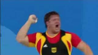getlinkyoutube.com-Men's Weightlifting - +105KG - Beijing 2008 Summer Olympic Games