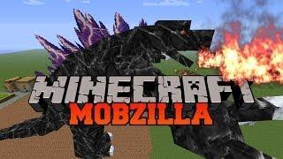 getlinkyoutube.com-Minecraft: MOBZILLA! (STRONGEST BOSS MOB IN MINECRAFT!) Mod Showcase