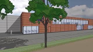 Neubau in Oyten, bei Bremen: 6.000m² für hochwertigen Maschinenpark