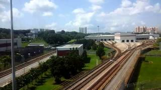 getlinkyoutube.com-SMRT Trains Siemens C651 Set 235/236 Ang Mo Kio To Bishan