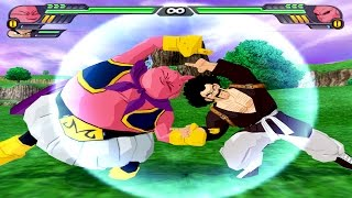 getlinkyoutube.com-Majin Buu and Mr Satan Fusion | Buutan vs Kid Buu | DBZ Tenkaichi 3 (MOD)
