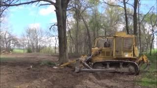 getlinkyoutube.com-The Perfect Treesaw dozer model on D6c CAT
