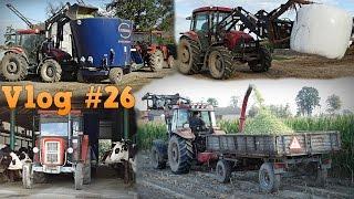 getlinkyoutube.com-Cięcie kukurydzy, karmienie krów czyli codzienne obowiązki 2016 ☆ 2x GoPro, vlog #26 ㋡ MafiaSolec