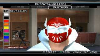 getlinkyoutube.com-WWE 13 SINCARA CAW FORMULA FOR SVR 11 PS2 HD