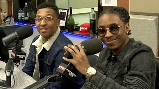 TK N Cash Interview at The Breakfast Club Power 105.1 (03/02/2016)