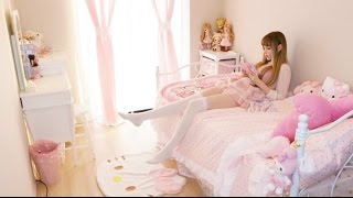 getlinkyoutube.com-My Bedroom Tour ♡私のルームツアー♡ 我的房間