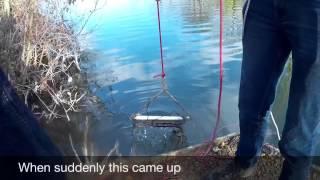 getlinkyoutube.com-magnet fishing, BEST FIND YET!! [magneetvissen]
