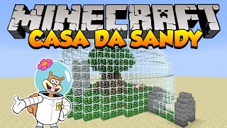 getlinkyoutube.com-Minecraft: Como construir a Casa da Sandy (Bob Esponja)