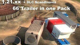 getlinkyoutube.com-[ETS2 v1.21] 66 Roadhunter Heavy Trailers Pack *Standalone*