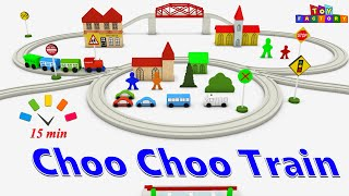 getlinkyoutube.com-Choo Choo train - train cartoon for children - train videos for kids - cars and trucks cartoons