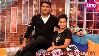 getlinkyoutube.com-Sania Mirza As Guest On Comedy Nights With Kapil