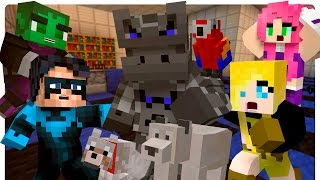 getlinkyoutube.com-Teen Titans: CinderBlock in a Pet Store! (Minecraft Roleplay)