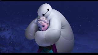 getlinkyoutube.com-Baymax Epic Frozen PARODY Do you want to build a snowman Anna