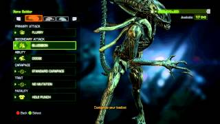 getlinkyoutube.com-Aliens: Colonial Marines Xenomorph Soldier..How to turn it into a Meat Grinder