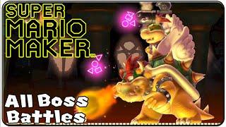 getlinkyoutube.com-Super Mario Maker All Bosses