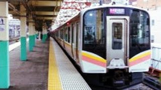getlinkyoutube.com-【JR白新線】前面展望 新潟→新発田  Train Cockpit View (E129系)