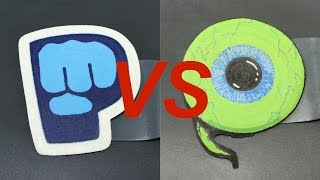 PewDiePie vs Jacksepticeye Epic Pancake Battle