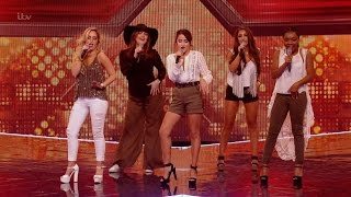 The X Factor UK 2015 S12E11 6 Chair Challenge - Groups - Mon Amie Full Clip