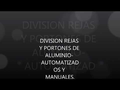 REJAS Y PORTONES DE ALUMINIO CHAMPAGNE MINIMALISTA
