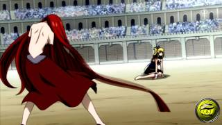 Fairy Tail - AMV - Lucy vs Flare AMV клипы 2012