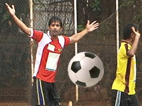 EXCLUSIVE !! Barun Sobti's aka Arnav's FOOTBALL MATCH for CHARITY 18th June 2012