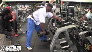 In the Trenches | Dexter Jackson trains back in prep for Mr. Olympia copetition