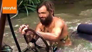 getlinkyoutube.com-Crazy Inventor Drives Homemade Car Underwater (Storyful, Auto)